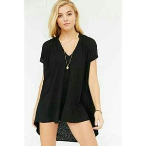 Urban Outfitters Mouchette High-Low Top